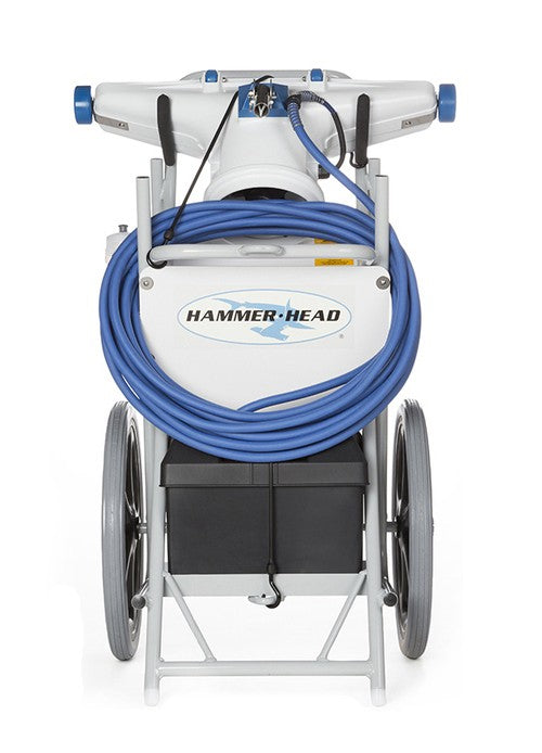 HammerHead Hammerhead Service Vacuum With 30 Inch Head, 60 Foot Cord, 2 Debris Bags, and No Trailer Mount HH9155