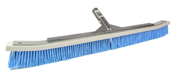 Pentair Blue Nylon Curved Aluminum Backed Wall Brush - 24 Inch R111342