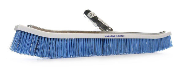 Pentair Blended Stainless and Nylon Curved Aluminum Back Wall Brush - 18 Inch R111358
