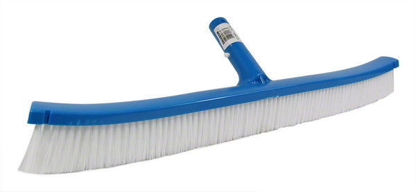Pentair White Poly Curved ABS Backed Wall Brush - 18 Inch R111366