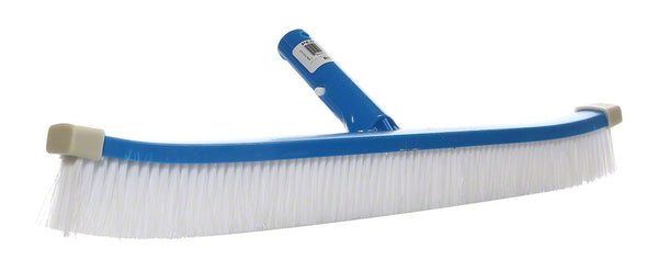 Pentair White Nylon Curved ABS Wall Brush for Vinyl Liner Pools - 18 Inch R111386