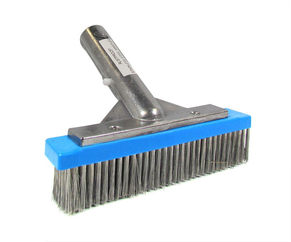 Pentair Stainless Steel Algae Brush with Aluminum Back - 6 Inch R111616