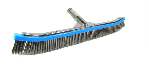 Pentair Stainless Steel Algae Brush with Aluminum Back - 18 Inch R111646