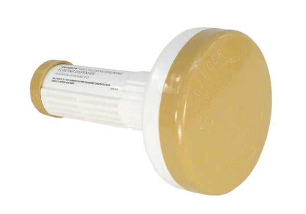 Pentair Spa Floating Chlorine Dispenser - Beige/White R171090