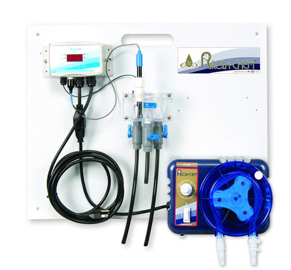 Rola-Chem Generation II Digital pH Only Liquid Acid Controller Package With One 38 GPD Legacy Peristaltic Pump RC554217