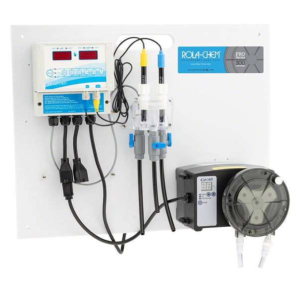 Rola-Chem Generation II Digital pH/ORP Salt Generator Controller Package With One 38 GPD Pro Series 300 Peristaltic Pump RC554511
