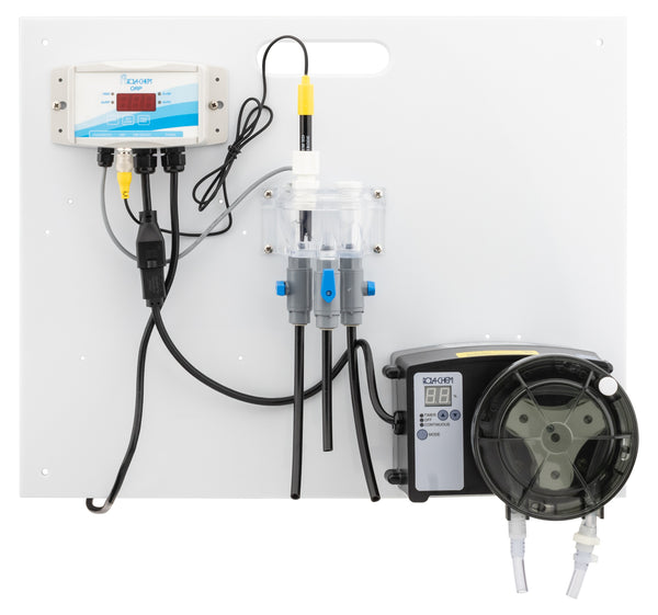Rola-Chem Generation II Digital pH Only Liquid Chlorine Controller Package With One 38 GPD Pro Series 300 Peristaltic Pump RC554513