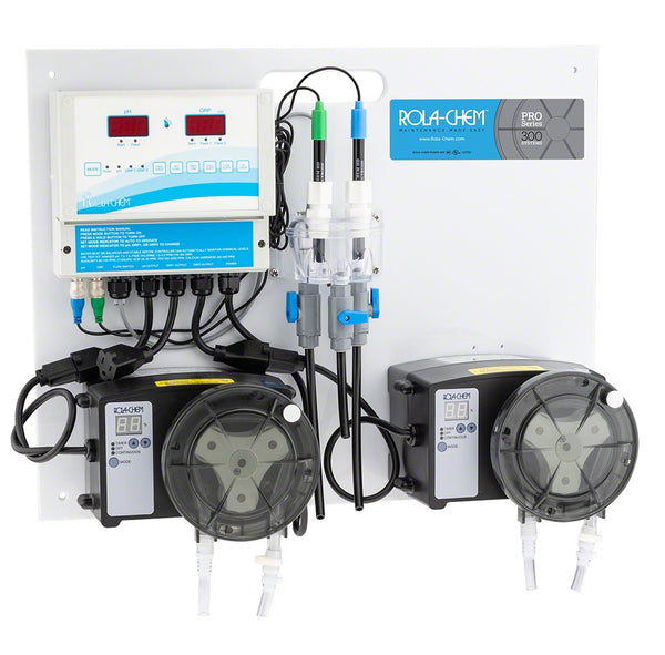 Rola-Chem Generation II Digital ORP Only Liquid Chlorine Controller Package With One 38 GPD Pro Series 300 Peristaltic Pump RC554516