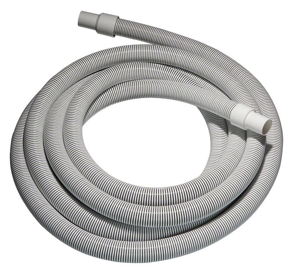 Commercial Pool Vacuum Hose - 1-1/2 Inch x 100 Feet with Swivel Cuff SK15100