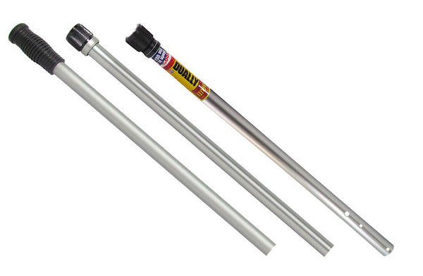 Skimlite 8 to 24 Foot Super Duty Series 9000 Dually Pole - Dual Lock Systems (3-Piece) SL9024
