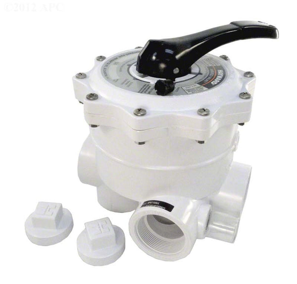 Hayward Vari-Flo Multiport 6-Position Valve - 2 Inch Side Mount (Sand or D.E.) - 100 GPM SP0715ALL
