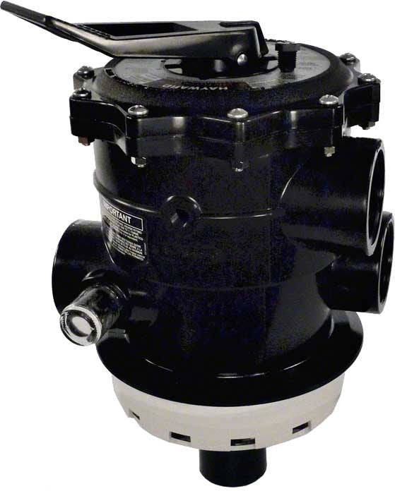 Hayward Vari-Flo Multiport 6-Position Control Valve - 2 Inch Top Mount (Sand) - 150 GPM SP071621
