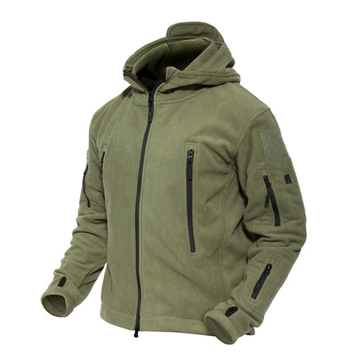 Men Jackets Winter Warm Fleece Jackets