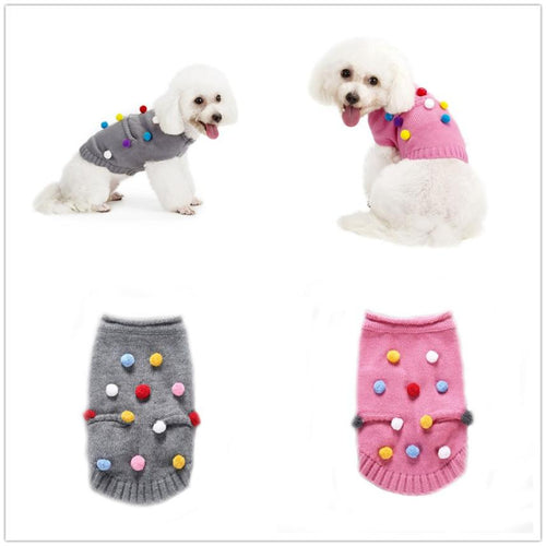 Sweater Pet Dog Clothes Coat Jacket Puppy Small Cat Costume