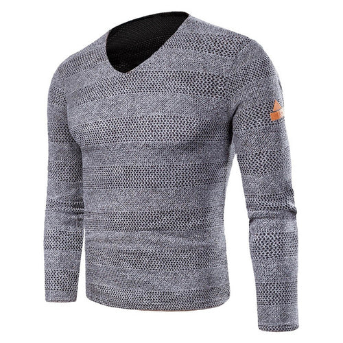 Sweater Men Pullovers Casual O Collar Solid Simple Slim