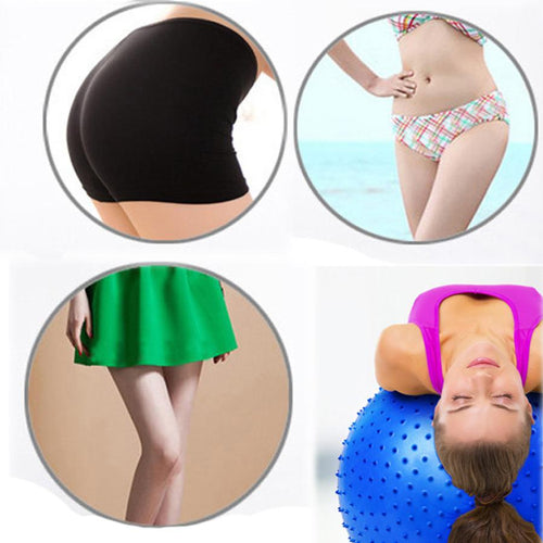 PVC Barbed Surface 65cm Massage Granules Exercise Ball