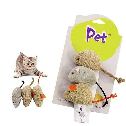 Cat Products Mice Animal Plush  Toys Simulation Mouse Biting Scratching Playing Supplies