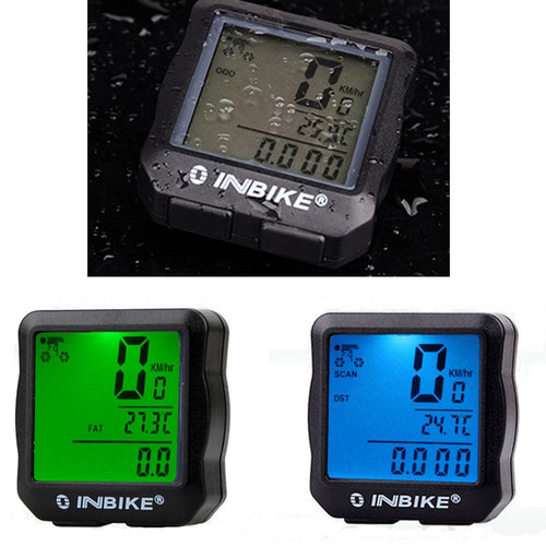 Bicycle new Waterproof  Cycling  Bike Computer Odometer Speedometer