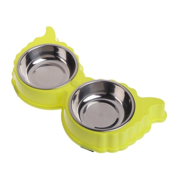 Dog Bowls Mat Pad Stainless Steel