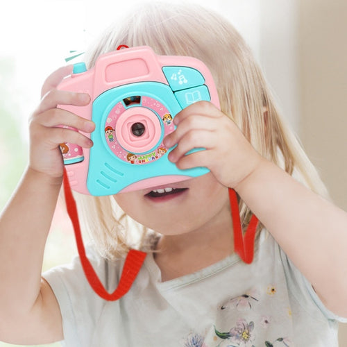 Fun Projection Camera Toy Variety Animal Pattern Baby Cognition LED Light Projection