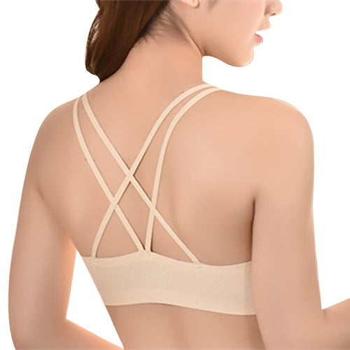 Women Yoga Padded Sport Shirt Women  Bras