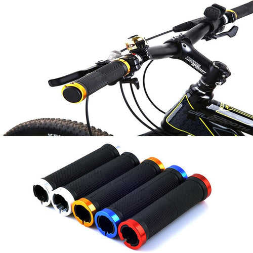 02pcs Mountain Cycling Bike Bicycle MTB Handlebar Grips Rubber