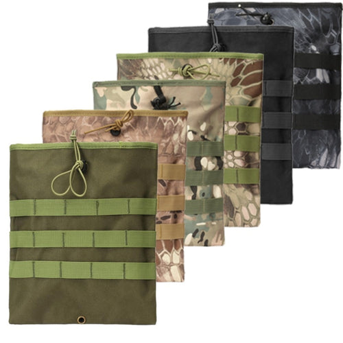 Outdoor Large Running Camouflage  Army Fan Waist Tactical Accessory Bag