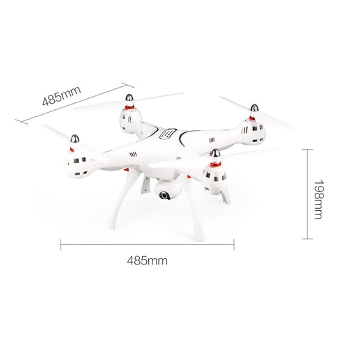 X8PRO GPS DRONE WIFI FPV With 720P HD Adjustable Camera