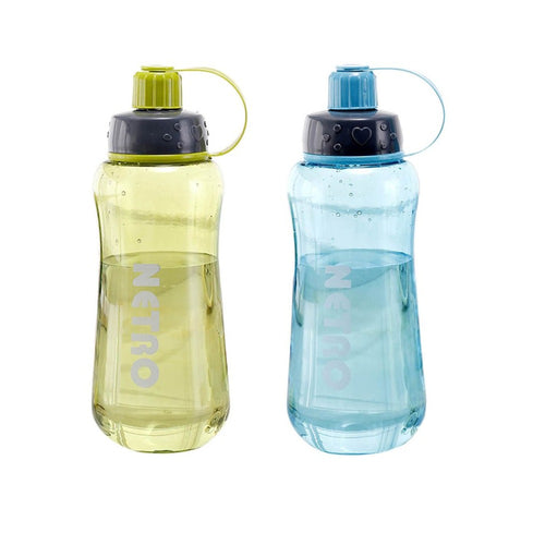 800/1000/1500ML Portable Sports Students Water Bottle Plastic Outdoor