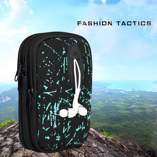 Men Waist Belt Bags Mobile Phone Bag For Running Hunting Tennis Outdoor Mini Leisure Pockets