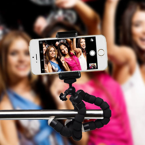 High quality Mini Flexible Sponge Octopus Tripod for iPhone Samsung Xiaomi Huawei