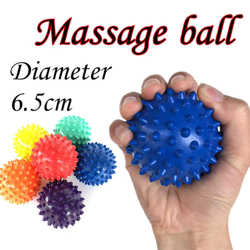 1 Pc 6.5cm Massage Ball Roller Reflexology Stress Relief For Body