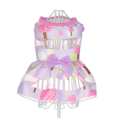 Summer Dog Dress Pet  Clothes Small  Wedding
