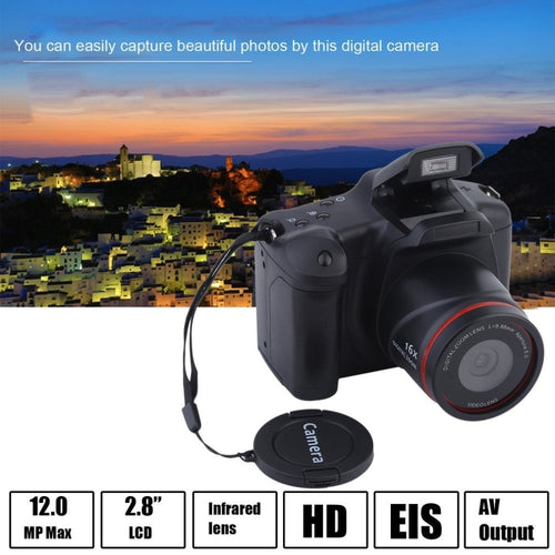HD Digital Medium/Long Focus Optical Zoom SLR Camera  Manual Operation Home Usage Anti-Shake