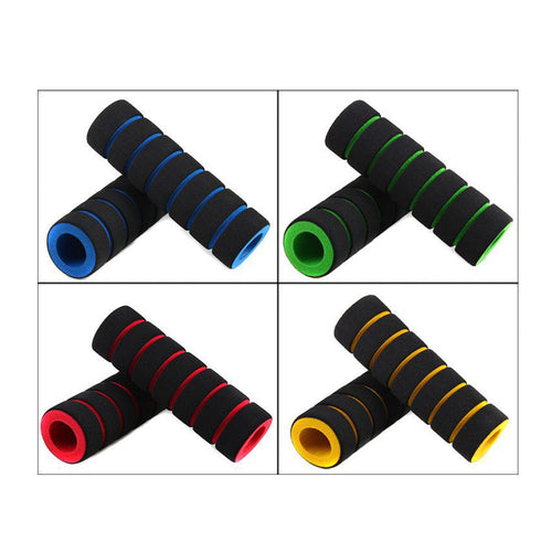 Bike Racing Handle Bar Foam Sponge Grip Cover Non-slip