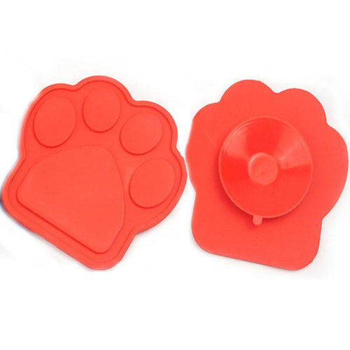 Silicone Dog Bath Bowl With Sucker Slow Treater Suction Treat Dispensing