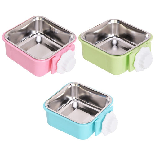 Dog Removable Hanging Bowl Travel Pet Dry Food