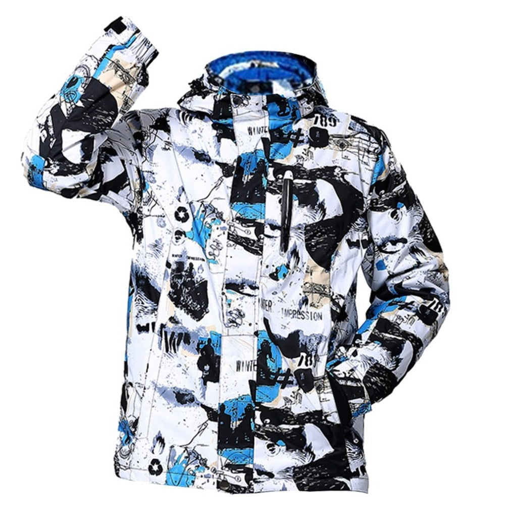 Winter Men Ski Snowboard Jacket