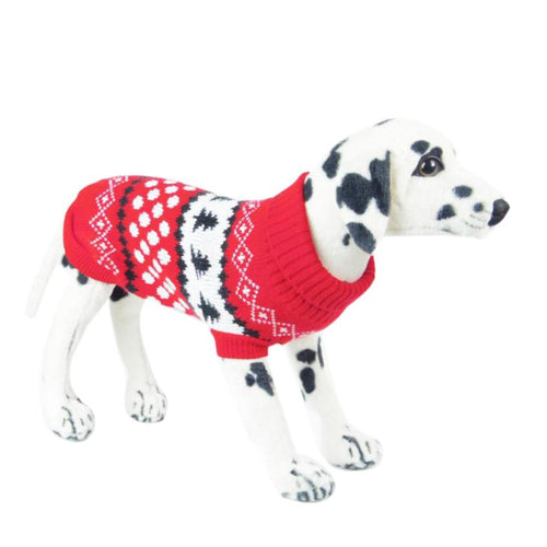 Pet Dog Acrylic Sweater Puppy Knitwear Clothes Hoodie Winter
