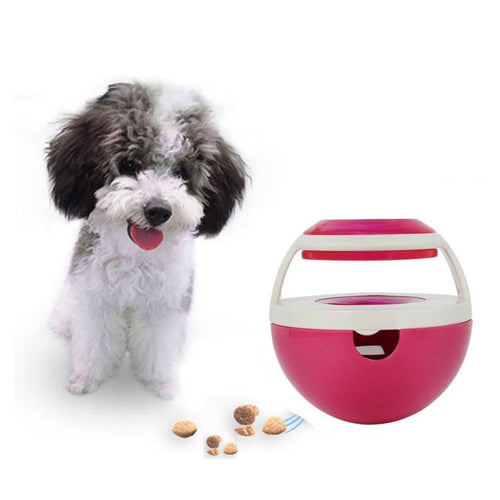 Dogs Feeders Food Ball  Hide Puppy Kitten Interactive Puzzle Toys Shaking Bowl