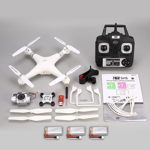 Drone Quadcopter with 1080P Adjustable Wide Angle Wifi HD Camera