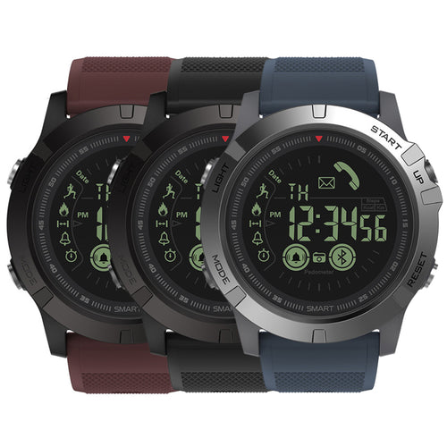 Tact Military Style Fitness Tracker Pedometer Smartwatch , Remote Camera Super Tough