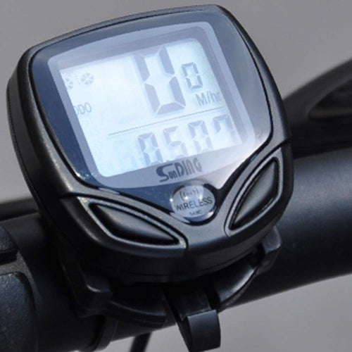 Bicycle Meter Speedometer Wireless digital LCD Cycle Computer