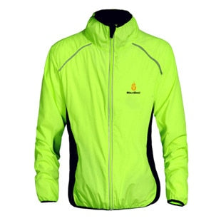Reflective Waterproof coat Windproof Quick Dry Jacket Yellow
