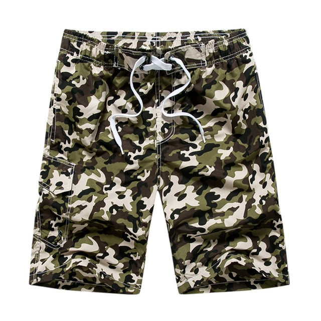 Men's Camouflage Quick-drying Casual Shorts