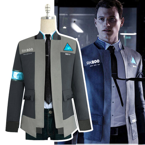 Become Human Cosplay Connor Uniform Men Jacket
