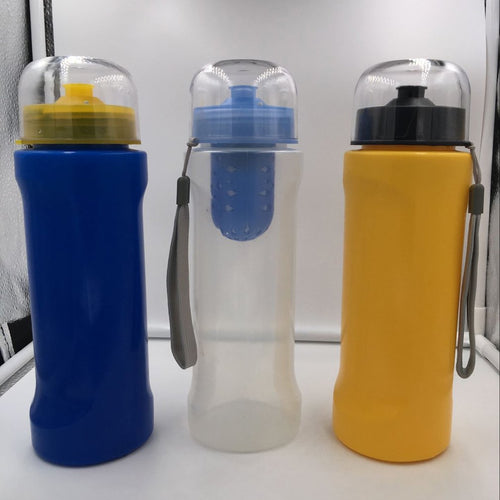 Portable Size Outdoor Camping Hiking Activated Carbon Filter Water Bottle