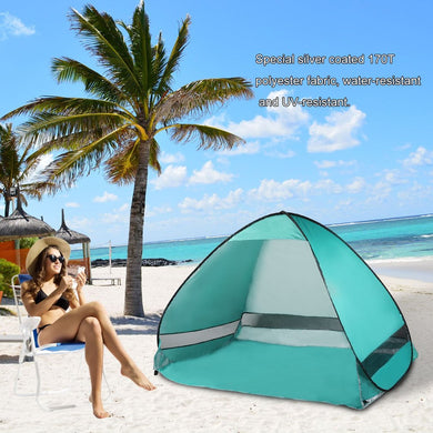 Summer Anti UV Beach Tent Portable Ultralight Sun Shade Shelter For Outdoor Camping Fishing with Bag