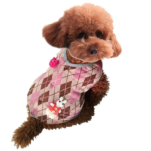 Dog Puppy Sweater Fleece Clothes Warm Sweater Pet Clothes Winter