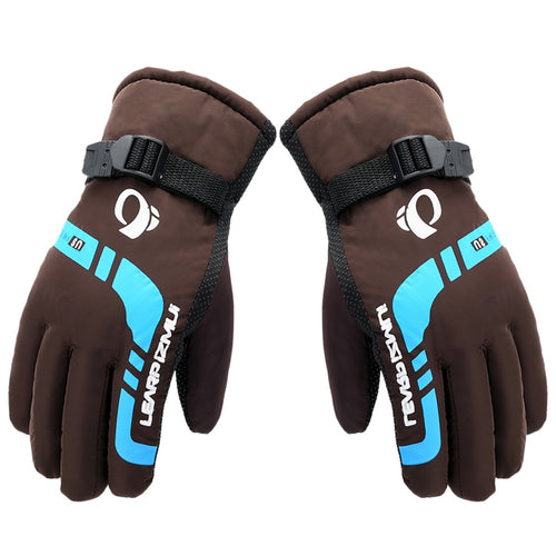 Men Winter Thermal Gloves Outdoor Motorcycle Riding Windproof